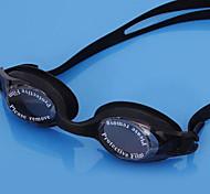 anti-buée des lunettes de natation étanches ultraviolets épreuve