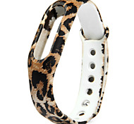 Activity Tracker Replaceable TPU Band for Xiaomi Smart Watch Bracelet Leopard Pattern