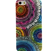 COCO FUN® Floral Tribal Pattern Soft TPU IMD Back Case Cover for iPhone 5/5S