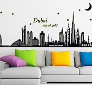 Dubai's Silhouette Noctilucent Stick