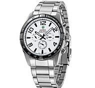 Men's fashion sports watches steel