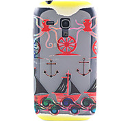 Octopus Anchors Pattern TPU Relief Back Cover Case for Samsung Galaxy S3 Mini I8190