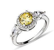 I FREE® Sterling Silver/Rhinestone Ring Statement Rings Wedding/Party/Daily/Casual 1pc