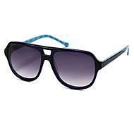 antireflet lunettes de soleil rétro acétate d'aviateur