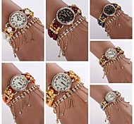 Hot Sale Fashion Luxury Gold Steel Bracelet Watch