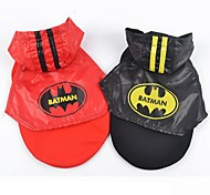 Batman Stylish Eyelet Fabric Mantle for Pets Dogs (Assorted Colors and Sizes)