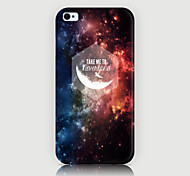 cielo stellato modello di caso per iphone4 / 4s