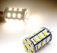 9W G4 LED Mais-Birnen T 18 SMD 5730 350 lm Warmes Weiß / Kühles Weiß AC 12 V 1 Stück