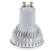 6W GU10 Focos LED MR16 5 LED de Alta Potencia 450 lm Blanco Cálido / Blanco Fresco Regulable AC 110-130 V 5 piezas