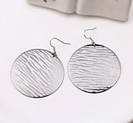 Fashion Stripe Alloy Drop Earrings