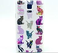 Colorful Cat Pattern TPU Soft Case for Galaxy S5 Mini