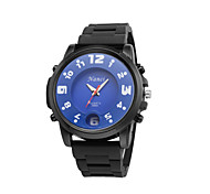 2015 New Silicone Strap Fashion Casual Men Sports Watches Relojes Male Relogio Masculino Wristwatches