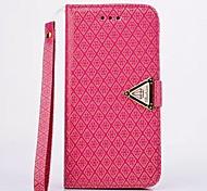 Golden Wind Diamond Eternity Diamond Lattice Leather Series for iPhone 6(Assorted Colors)