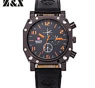 cuarzo de moda reloj deportivo analógicas de los hombres (colores surtidos)