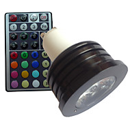 4W GU10 Focos LED MR16 1 LED de Alta Potencia lm RGB Regulable / Control Remoto / Decorativa AC 85-265 V 1 pieza