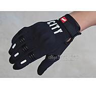 Guantes de moto Dedos completos M/L/XL/XXL Negro