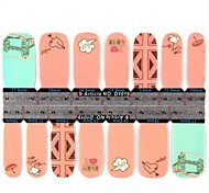 Ultra-Thin Nail Stickers Nail Stick Decals Patch-1019