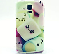 For Samsung Galaxy Case Pattern Case Back Cover Case Cartoon TPU Samsung S5 Mini