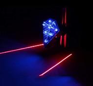 Otros ( plateado/Rojo/Azul/Verde , Plástico ) - Luz LED - Bicicleta de Montaña/Bici fija del engranaje