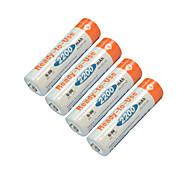 BPI aa 1.2v 2200mah batteria ricaricabile Ni-MH (4ps)