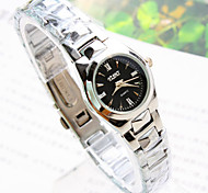 Women's New Explosion Square Dial Steel Watch Fashion Business Quartz Watch
