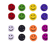 Cute Smile Face Stud Earrings