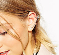 European Style Fashion Crystal Rhinestone Angel Earrings
