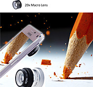 Evileye High Definition 20X Macro Lens for Samsung Galaxy S5 / Note 4 Added to Crystal Mounting Plate (Assorted Colors)