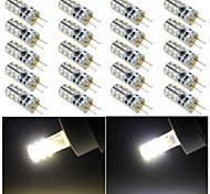 ding yao Luminária de Pin-Duplo G4 3 W 1200 LM 2800-3500/6000-6500 K Branco Quente/Branco Frio 24 SMD 3014 10 pçs DC 12 V