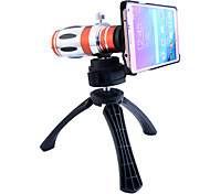 Telescope 12.5X Zoom Telephoto Manual Focus Long Focal Camera Lens with Back Case and Tripod for Samsung Galaxy Note 4