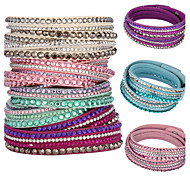 Fashion Women's Multilayer Crystal Bracelets(Assorted Colors)