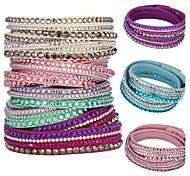 Bracelets Wrap ( Cristal ) Soirée/Quotidien/Casual/Sports