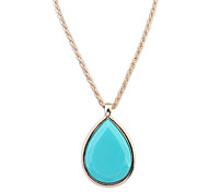 European Style Fashion Simple Drops Necklace