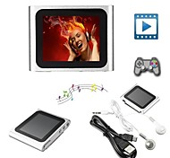 8GB Mp3 Mp4 6th Gen LCD Screen FM Radio Player Slim Video Games Movie