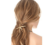 Fashion Europe Starfish Hairpin Mermaid