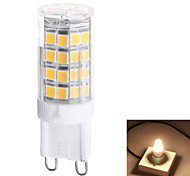 Bombillas LED de Mazorca T G9 4W 51 SMD 2835 350 LM Blanco Cálido / Blanco Natural AC 100-240 V 1 pieza