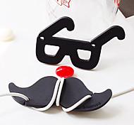 Pão dos desenhos animados e Óculos Padrão bobinador (cores sortidas)