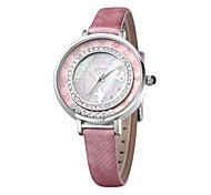Charming elegant nice design high quality quartz leather band wrist watches DC-51022