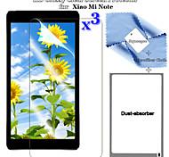 Hd premium 3in1 brillante pantalla LCD Clear flim protector con juego de paño de limpieza para sony Xiaomi mi nota