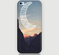 Crescent Pattern Phone Back Case Cover for iPhone5C