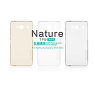 NILLKIN Nature Series Ultra Thin Transparent TPU Case for Galaxy E5(E500)