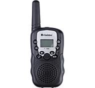 "Baiston BST-388 22CH 0.5W 462MHz Walkie Talkie with 1"" LCD, Flashlight, Monitor Function - 2 Pcs"