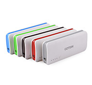 GOTEIN P3 Portable 3-USB 2.1A 10000mAh Power Bank for  iphone6/6 plus/Samsung Note4 and More (Color Assorted)