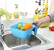 Square Handle Fruit Drain Water(Random Color)