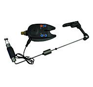 alarma mordedura de pesca inalámbrico tackle indicador de mordida + azul libertino pesca