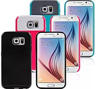 TPU+PC Protective Sleeve Cellular Combo for Samsung Galaxy S6 (Assorted Colors)