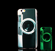 Camera Pattern Glow in the Dark Case for iPhone 6 Cover