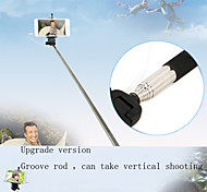Beittal Cable Monopod Selfie Stick No Charge No Bluetooth for iOS and Android System Smart Phones
