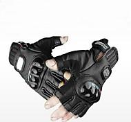 Gants de moto Cuir/Vinyle M/L/XL Comme présenté