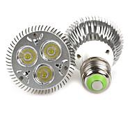 Luces PAR Regulable Bestlighting PAR20 E26/E27 9 W 3 LED de Alta Potencia 480-640 LM Blanco Cálido / Blanco Fresco AC 100-240 V 1 pieza